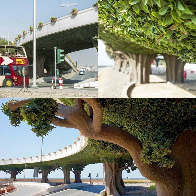 artificial hedges large projects available