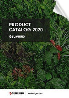 sunwing Artificial Hedges Products wholesale catalog2020