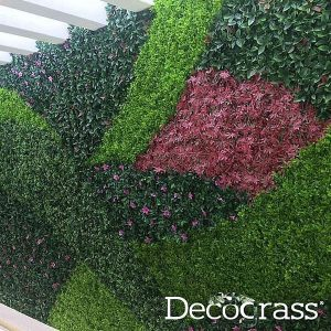 Artificial wall hedges by decograss