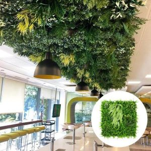 H021 wall greenery for restaurant ceiling