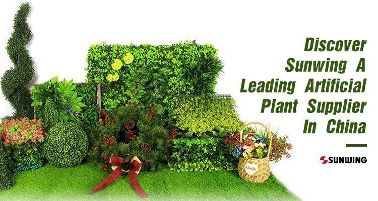 sunwing artificial plant supplier china banner