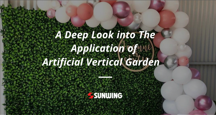 A Deep Look into The Application of Artificial Vertical Garden