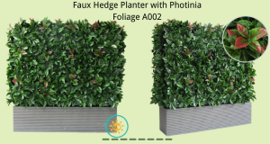 Faux-Hedge-Planter-with-Photinia-Foliage-A002