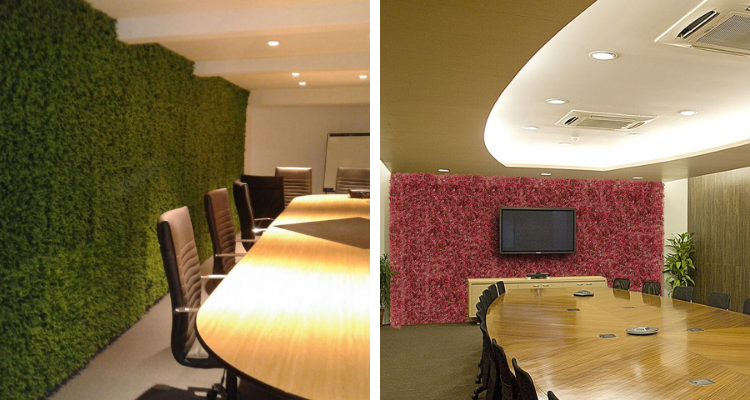 artificial plant for meeting room