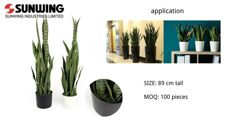 Artificial-Snake-Plant-in-Pot