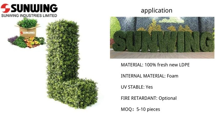 Artificial-Topiary-Letters