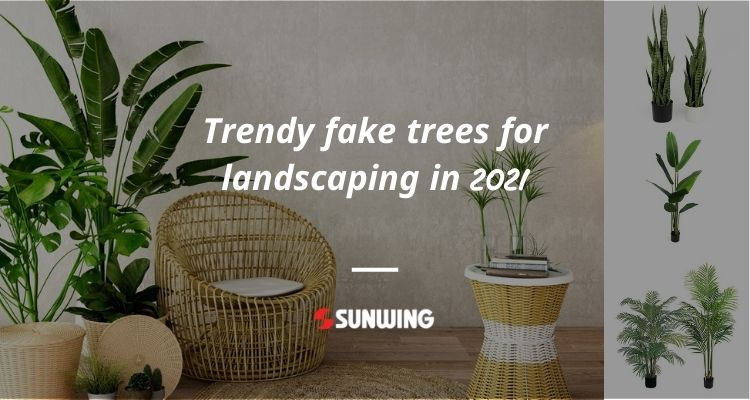 Trendy-fake-trees-for-landscaping-in-2021
