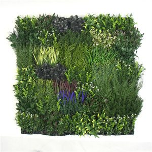 Faux Plant Wall